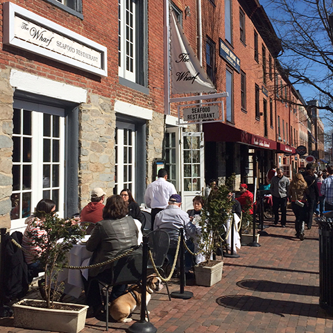 Dining in Old Town