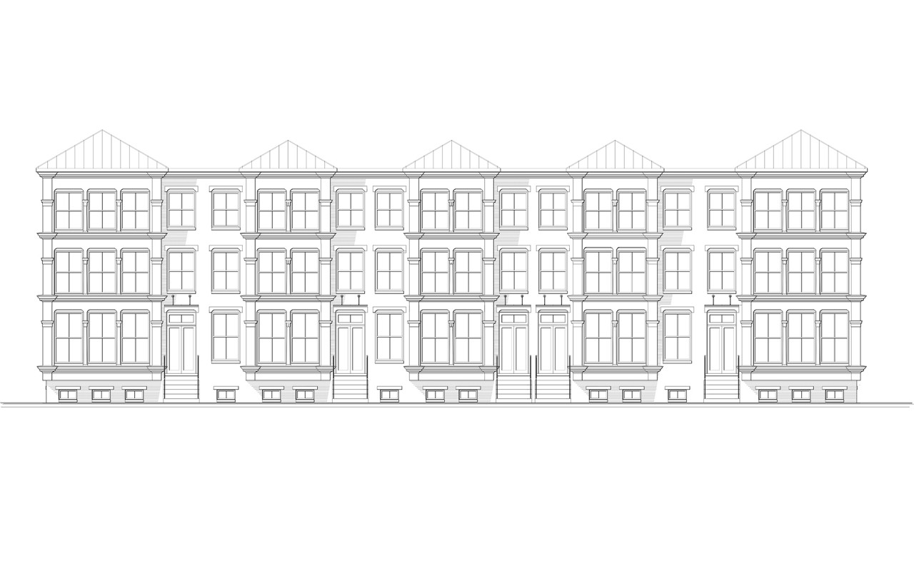 Cromley Row Elevation